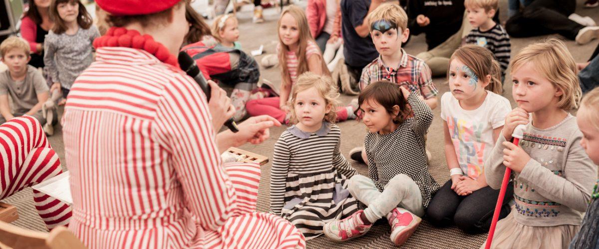 Kids go free at the Abergavenny Festival